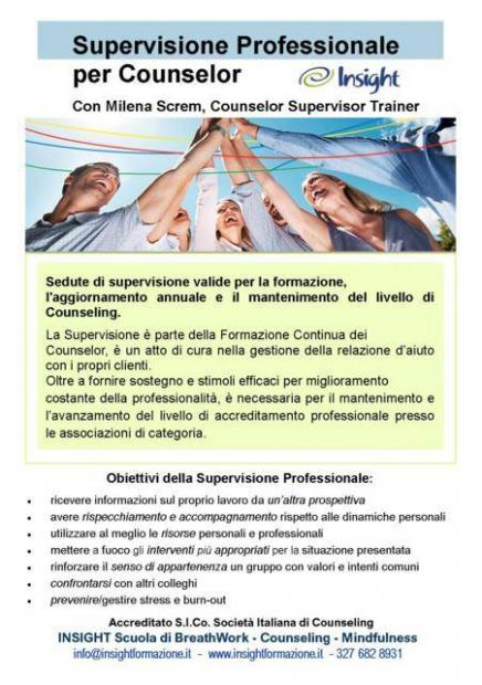 supervisione counselor